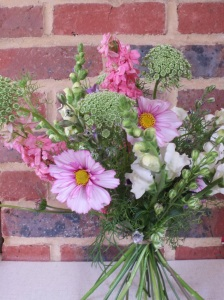 Hand-tied bouquets now available