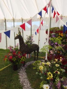 Thrilled to be a part of the Flowers from the Farm exhibit at Hampton Court Flower Show. July 2014